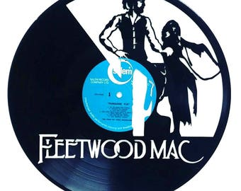 Fleetwood Mac - Vinyl Record Art