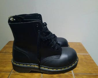 Dr Martens Steel Toe Boots US5 UK3 Made In UK