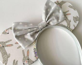 Hop Hop Hooray ! Rabbit Polkadot Mouse Ears