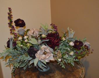 Wedding Centerpiece, Cake Table Centerpiece, Reception Centerpiece, Table Centerpiece, Dining Room Centerpiece,
