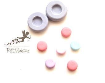 Silicone mold-silicone mold macaron-macaron molds-silicone jewelry mold-miniature mold-mold polymer clay-molds-mold -macaron ST337