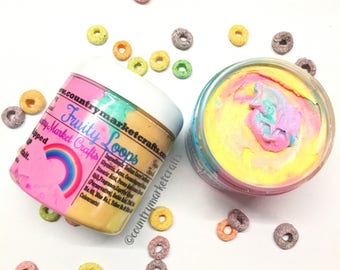 Fruit Loops Whipped Soap Parfait - Body Frosting