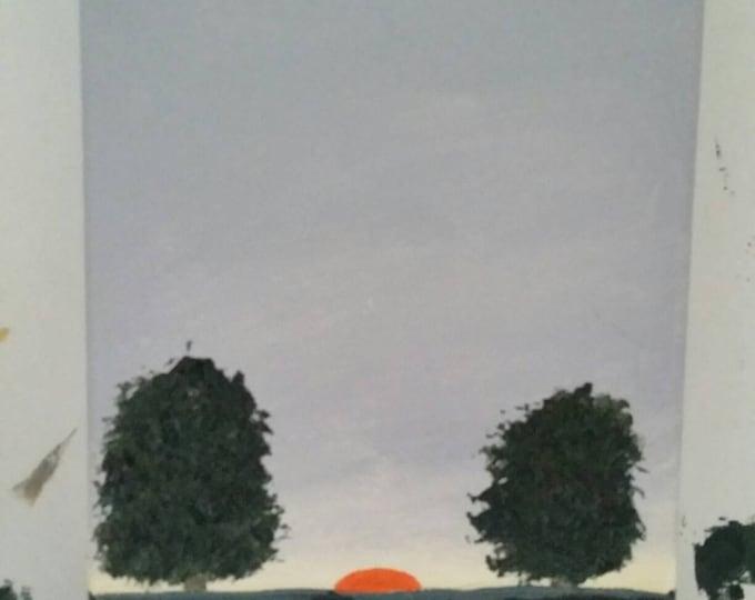 Last Light - Oil Painting