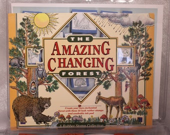 ScrapOnizer The Amazing Changing Forest 35 Stamps The Scrap Books Toolbox