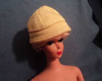 Vintage Mattel Barbie Doll Accessory Yellow Rain Hat Rain Coat #949 and Stormy Weather #949