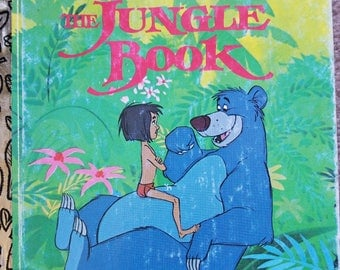 Walt Disney's 1967 animated story The Jungle Book, a Little Golden Book