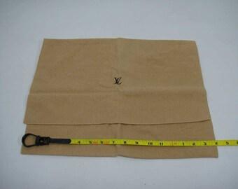 """AUTHENTIC Louis Vuitton Cotton Dust Bag 16""""x 12.25""""  LF011008"""