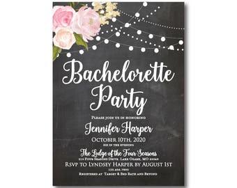 PRINTABLE Bachelorette Party Invitation, Bachelorette Party Invitation Printable, Girls Night Out, Invitation, Bachelorette Party #CL104