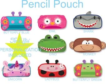 Stephen Joseph PENCIL POUCH, Pencil Case 8 Different Designs