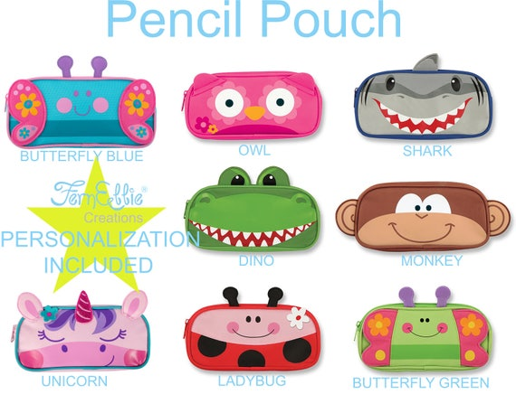 Stephen Joseph Pencil Pouch 8 Different  Designs