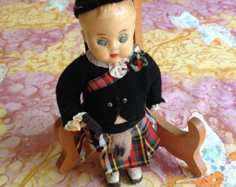 Little Scottish Male Doll