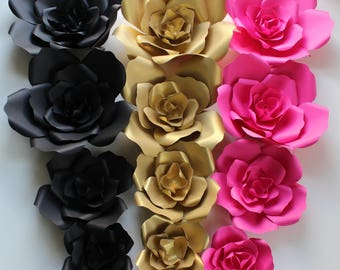KATE SPADE Paper Flowers for Wall Décor, Backdrops, Weddings and Showers decoration