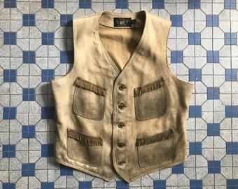 RESERVED RRL Deer Skin Vest