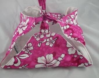SacT015 - Bag for tart Hibiscus flowers and fuchsia