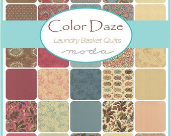 Color Daze By Laundry Basket Quilts for Moda