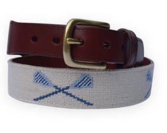 Hand Needlepoint Women's Belts