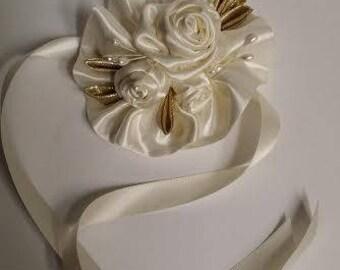 Handmade wreath corsages
