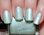 Shimmer Nail Polish, Blue Nail Polish, Mint Nail Polish, Indie Nail Polish, Indie Polish, Artisan Nail Polish, Indie Lacquer, ~CLARITY~