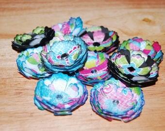 Multi-Color Handmade Paper flowers