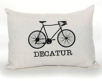 Customize Your Neighborhood Bike Pillow
