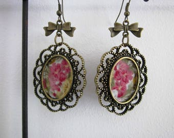 Flower Medallion earrings