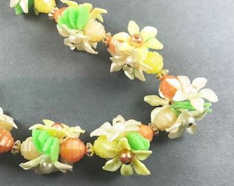 Vintage Flower Blossom Necklace