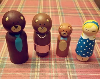 Goldilocks and the three bears set