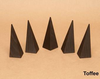 Ring Display / Ring Holder / Finger Display / Pyramid Ring Holder / Ring Cone / Ring Stand / Ring Organizer / Solid Wood / RN001
