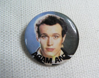 Vintage 80s Adam Ant - Pin / Button / Badge (Date Stamped 1983)