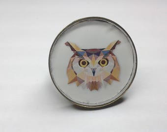 OWL ring with facets