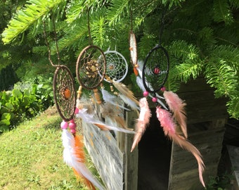 This beautiful dream catcher hand made for a gift idea