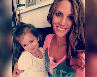 Mommy & me necklace set