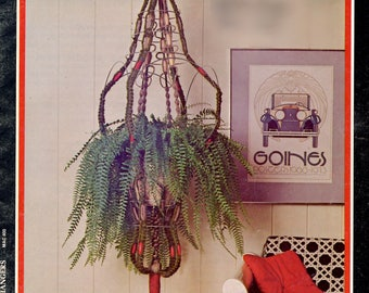 Knots 'n Easy Macrame Made Easy in PDF instant download version