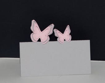 Mark up 3D Butterfly card