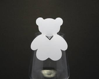 Space - themed glass bear brand