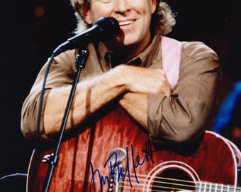 Jimmy Buffett Vintage Original Hand Signed 8X10 Autographed Photo