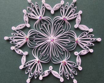 Quilling instruction sheet
