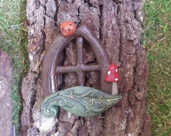 Window for Fairy house, Gnome house fairy Gardens