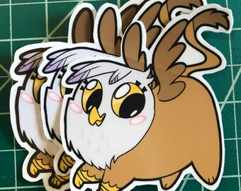 Pony Chubs! Gilda Sticker