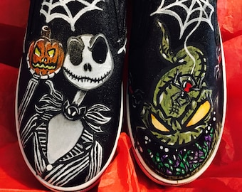 Hand painted custom shoes!