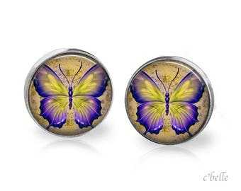 Earrings Butterfly 11