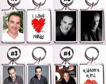 ON SALE NOW Mandy Patinkin Keychain Key Ring - Many Designs To Choose From