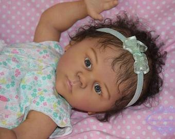 Biracial AA Reborn Baby Girl
