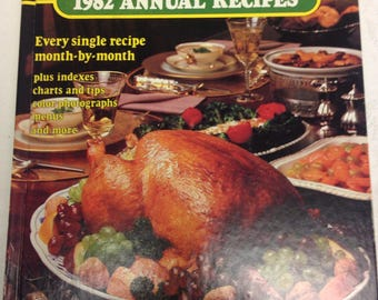 1982 Southern Living Annual Recipes Cookbook