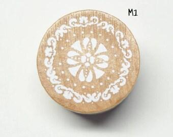 Circle stamp lace 3cm