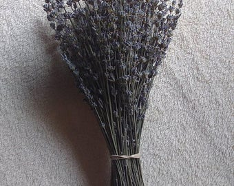 1 Dried English Lavendar Bunches  Light Purple