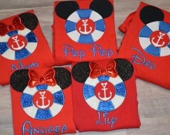 Family Cruise shirts/Disney Cruise shirts/Minnie Mouse shirts/Mickey Mouse shirts