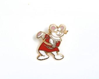 Fairytale gift, enamel pin, cartoon enamel pin,cloisonne lapel pin,cute mouse pin,fairy enamel pin, fantasy enamel pin, animation enamel pin