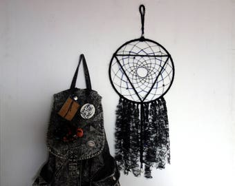Dreamcatcher | geometric, black, hippie, homedecor, gift