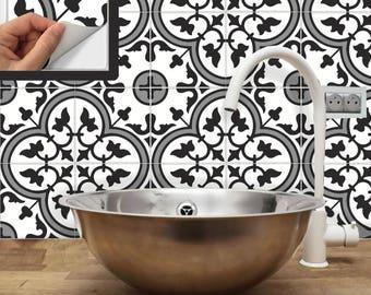 Fliesenaufkleber Für Küche Aufkantung Boden Bad Abnehmbar Wasserdicht: M035